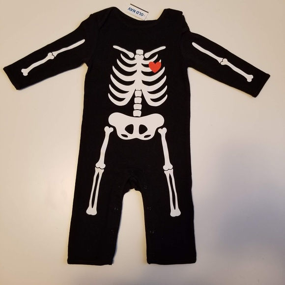 a75b9023bf9d Old Navy One Pieces | Baby Skeleton Graphic Onepiece 612 M | Poshmark